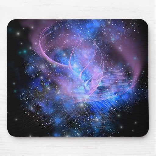 PARTICLE FOUNTAIN MOUSEPAD