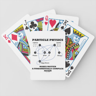 Particle Physics Makes Matter A Fundamentally Bicycle Playing Cards