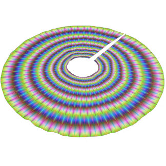 Particles and Waves Brushed Polyester Tree Skirt
