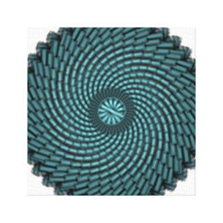 particles canvas print