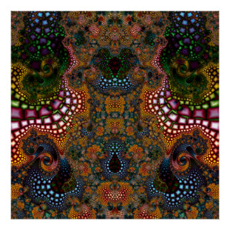 Particularized Dreamtime Variation 1  Art Print