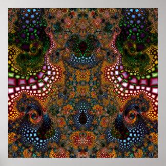 Particularized Dreamtime Variation 1  Art Print
