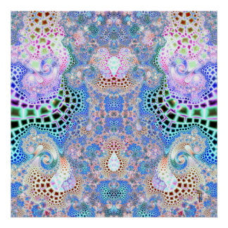 Particularized Dreamtime Variation 2  Art Print