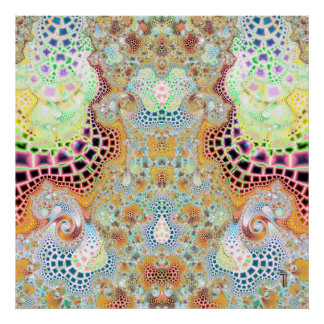 Particularized Dreamtime Variation 3  Art Print