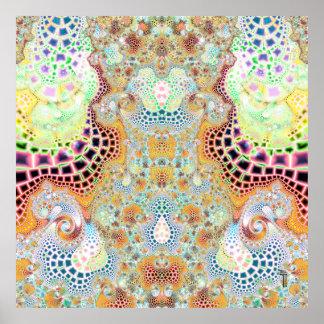 Particularized Dreamtime Variation 3  Art Print