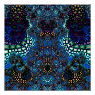 Particularized Dreamtime Variation 4  Art Print