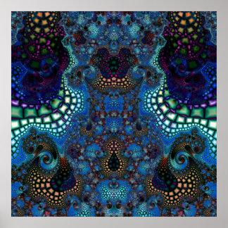 Particularized Dreamtime Variation 4  Art Print