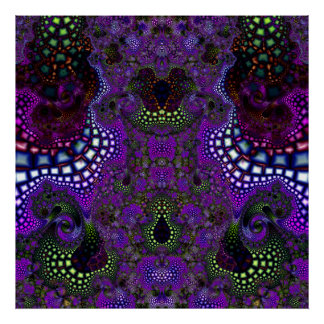 Particularized Dreamtime Variation 5  Art Print