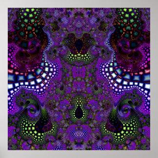 Particularized Dreamtime Variation 5  Art Print