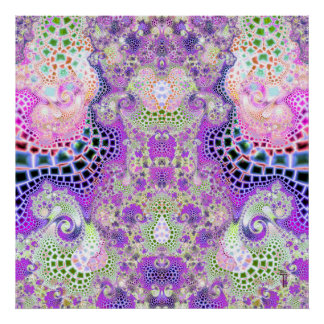 Particularized Dreamtime Variation 6  Art Print