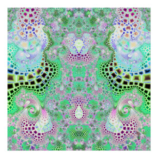 Particularized Dreamtime Variation 7  Art Print