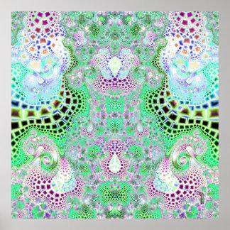 Particularized Dreamtime Variation 7  Art Print