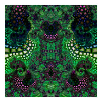 Particularized Dreamtime Variation 8  Art Print