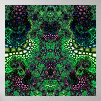 Particularized Dreamtime Variation 8  Art Print