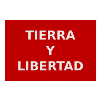 Partido Liberal Mexicano Colombia Political Posters