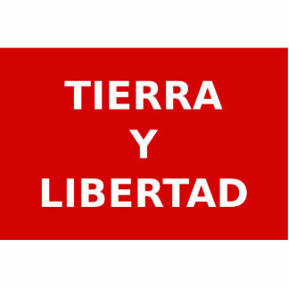 Partido Liberal Mexicano, Colombia Political Standing Photo Sculpture
