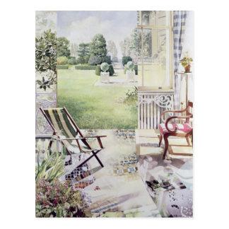 Partie de Campagne 1988 Postcard
