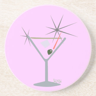 Partini Martini Glass Coaster
