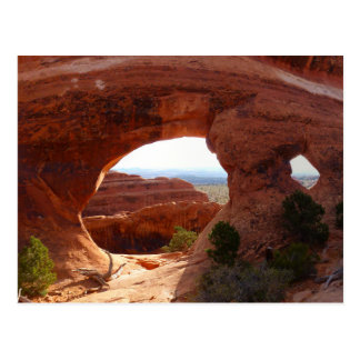 Partition Arch at Arches National Park Postcard