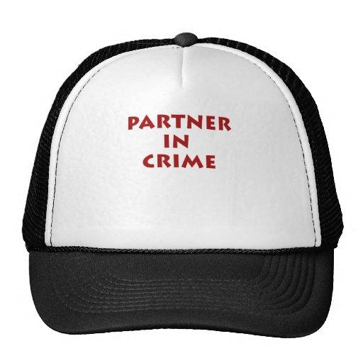 Partner in crime! trucker hats