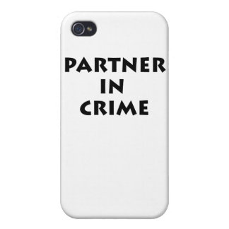 Partner in crime iPhone 4/4S cases