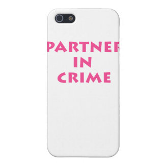 Partner in crime! iPhone 5/5S cover