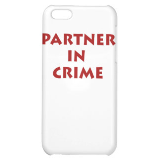 Partner in crime! iPhone 5C covers