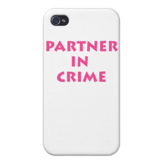 Partner in crime! iPhone 4/4S cases