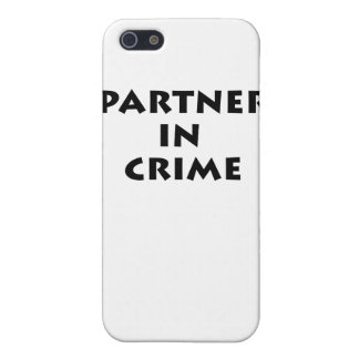 Partner in crime! iPhone 5 cases