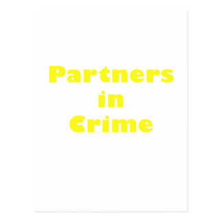 Partners in Crime Postcards
