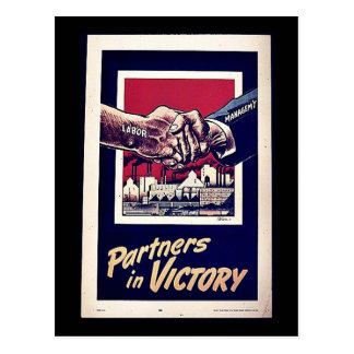 Partners In Victory Post Cards
