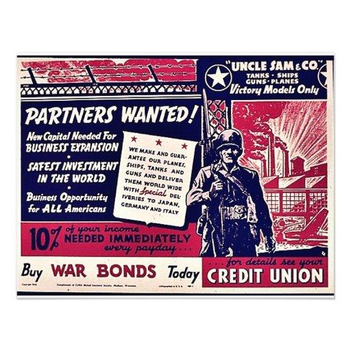 Partners Wanted Custom Invite
