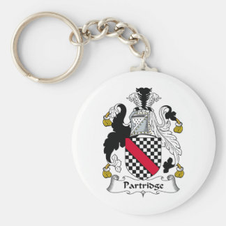 Partridge Family Crest Key Ring