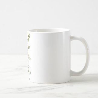 Partridge in a Green Pear Tree Basic White Mug