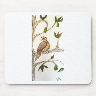 Partridge in a Green Pear Tree Mouse Pad