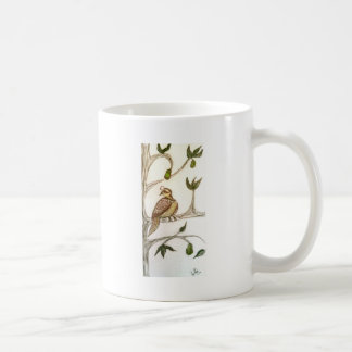 Partridge in a Green Pear Tree Coffee Mug