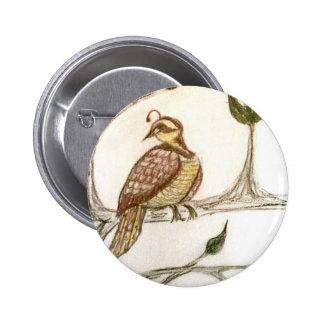 Partridge in a Green Pear Tree Pin