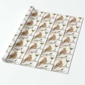 Partridge in a Green Pear Tree Gift Wrap