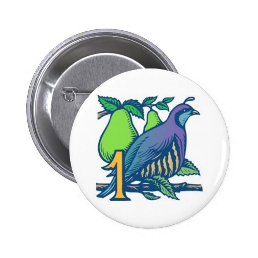 Partridge in a Pear Tree Pins