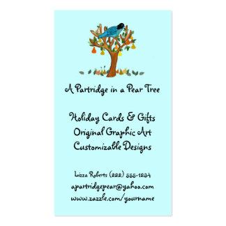Partridge in a Pear Tree Business Cards
