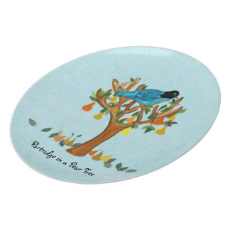 Partridge in a Pear Tree Decorative Plate