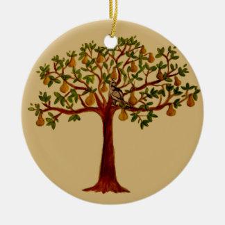 Partridge in a Pear Tree Ornament