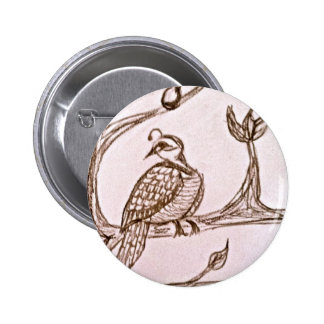 Partridge in a Pear Tree Pinback Buttons