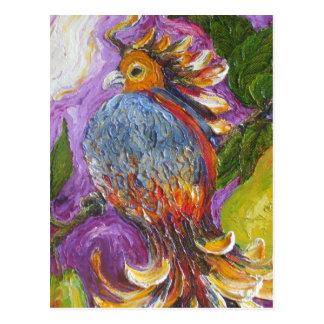 Partridge in a Pear Tree Postcard