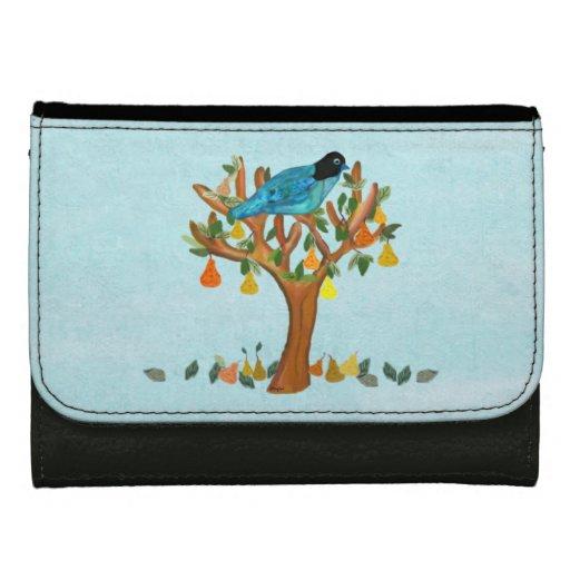 Partridge in a Pear Tree Wallets For Women