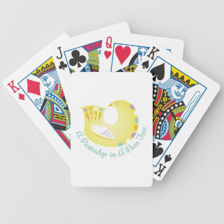 Partridge In Pear Tree Poker Deck