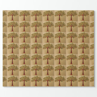 Partridge in Pear Tree Wrapping Paper