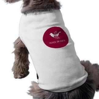 Partridge of Peace Sleeveless Dog Shirt