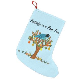 Partridge Pear Tree Christmas Stockings