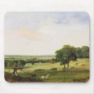 Partridge Shooting (oil on millboard) Mouse Pad